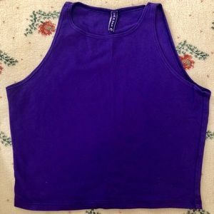LF Crop Top in Purple